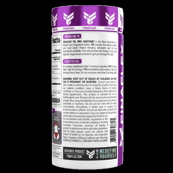 Finaflex PX WHITE PRO XANTHINE Elite Fat Burner Weight Loss ENERGY 60 ct 2