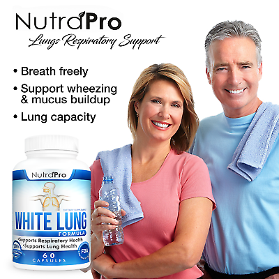 White Lung - Lung Cleanse & Detox.Support Clear Lungs a Healthy Lungs Supplement 1
