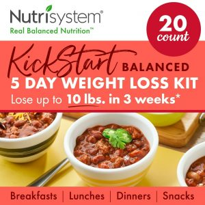 5 Day Weight Loss Meal Kit Nutrisystem Meals Nutrition Balanced Snack Meals Food 1