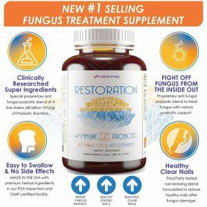 Restoration Toenail Fungus Treatment Probiotic Pills - Toe Nail Fungus Treatment 1