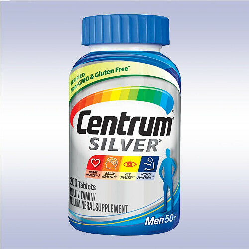 CENTRUM SILVER MULTIVITAMIN 50+ (275 - 325 TABLETS) [MENS / WOMENS / ADULT]