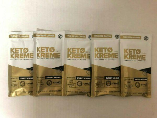 Pruvit Keto Sweet Kreme 5,10 & 20 Packets Flavor Dietary Supplement FreeShipping 2