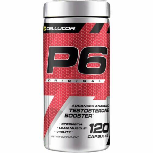 Cellucor P6 Original Testosterone Booster For Men (120 Capsules)