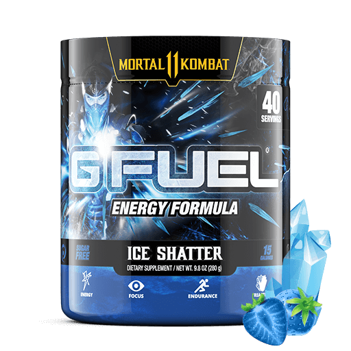 Gamma Labs G Fuel Ice Shatter GFuel 40 Servings