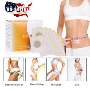 Magnetic Slim Slimming Patch Diet Weight Loss Detox Adhesive Pads Burn Fat