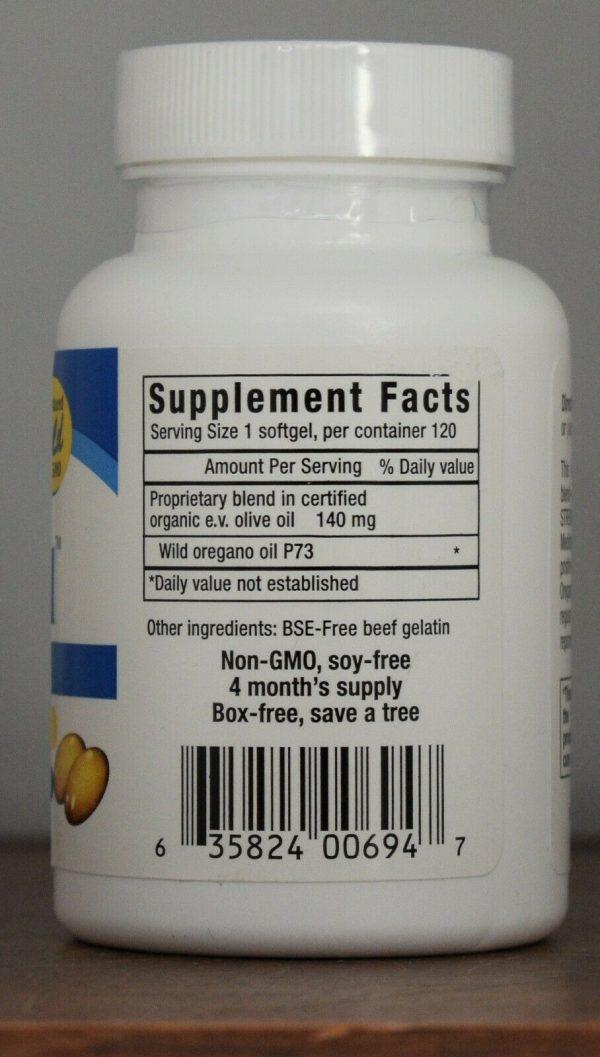 Oreganol P73 Super Strength North American Herb & Spice Softgels 120 Ct 02/23 2