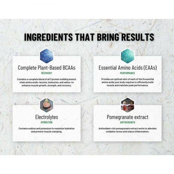 BCAA Powder | Nitric Oxide Booster  Essential Amino Acids Pomegranate Watermelon 6