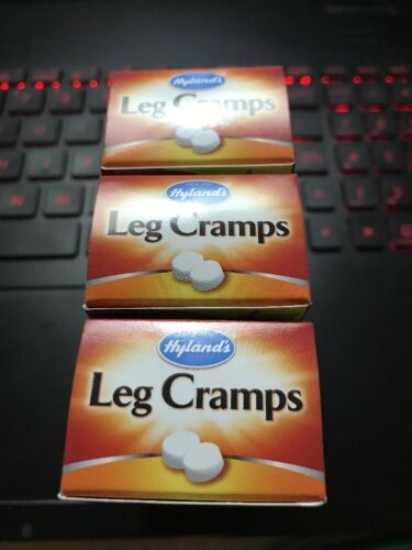 3 Packs Hylands Leg Cramps, Homeopathic Relax Calf & Foot Cramps - 100 Tablets 3