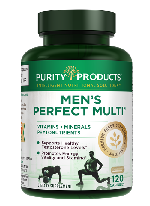 Men's Perfect Multi from Purity Products VitaminsMineralsPhytonutrients 120Cap