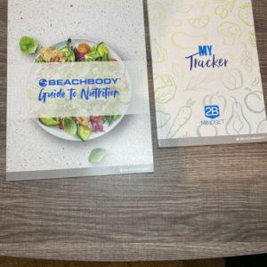 Beachbody 2B Mindset My Tracker Journal + Nutrition Guide Recipe Book Shakeology