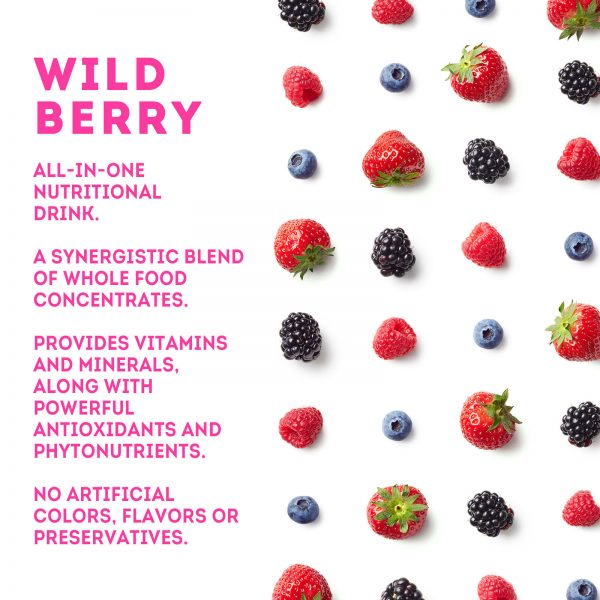 Zurvita- Zeal for Life- 30-Day Wellness Canister- Wild Berry 6
