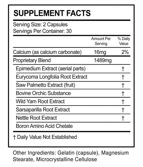 RMX Male Enhancement Stamina Supplement - 60 Capsules Free Shipping 1