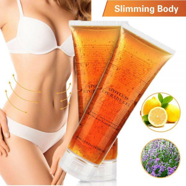 1-5 Fat Burning Gel Ultrasonic Massage Gel RF Cavitation Body Slimming Hot Cream 9