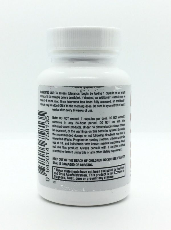 SKALD First Fat Burner Pills with Respiratory Support Weight Loss Supplement NEW 1
