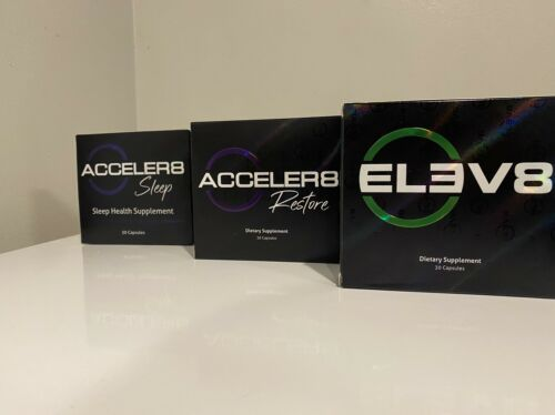 30 Days B Epic ELEV8 + ACCELER8 SLEEP + ACELLER8 RESTORE Weight Loss Bepic Pills 2
