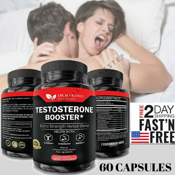 Pastillas De Testosterona Para Hombres Naturales - Potenciador De Testosterona 1
