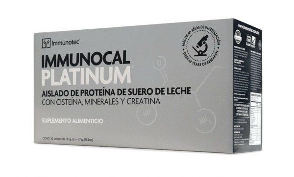 "IMMUNOCAL PLATINUM 1 BOX by IMMUNOTEC ""NEW PACKAGING SAME ORIGINAL PRODUCT"""