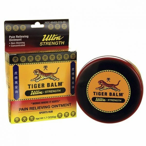Tiger Balm Sports Rub - Ultra Strength 1.7 oz Ointment