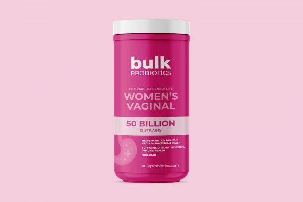 BULKPROBIOTICS Renew Life Women's Probiotic 50 Billion CFU 30 Capsules VEGAN 2