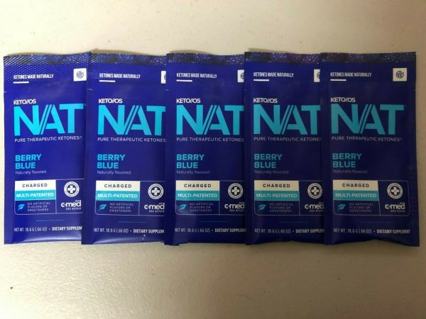 Pruvit Keto OS Nat Berry Blue (Charged) 5, 10 & 20 Packs FREE SHIPPING 1