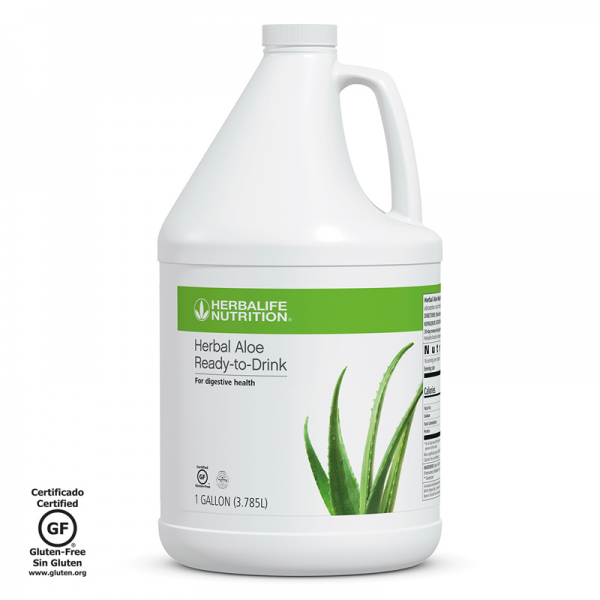 Herbalife Herbal Aloe Ready-to-Drink Gallon Zero Calorie Zero Sugar Full Natural