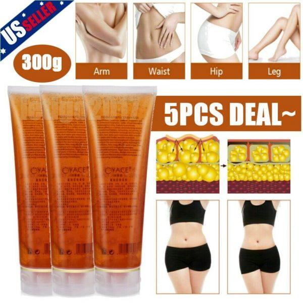 1-5 Fat Burning Gel Ultrasonic Massage Gel RF Cavitation Body Slimming Hot Cream