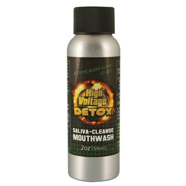 HIGH VOLTAGE DETOX Saliva Cleanse Mouthwash  2oz  1