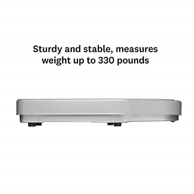 Thinner Extra-Large Dial Analog Precision Bathroom Scale, Analog Bath Scale, Up 2