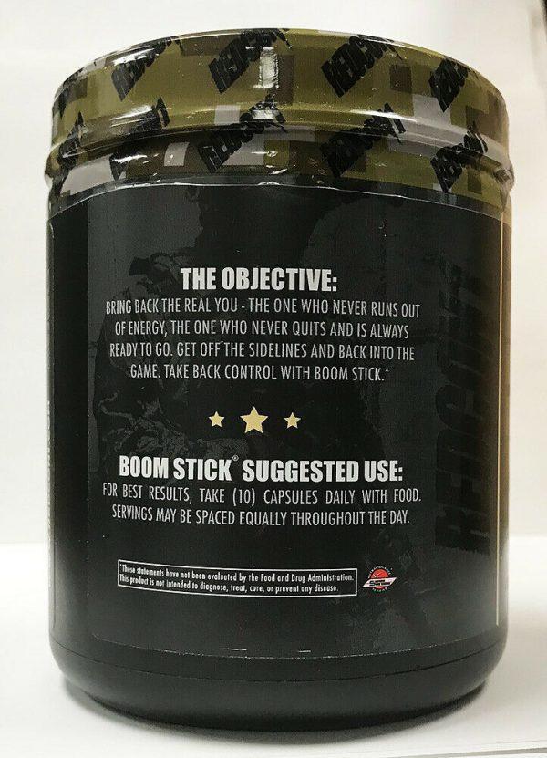 "Redcon1  Boom Stick  Testosterone Support 300 Capsules  ""New"" 2"