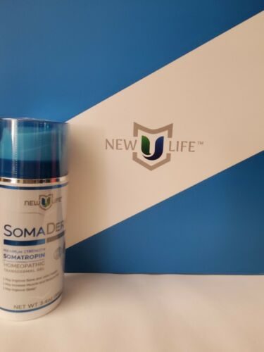 New U Life SOMA DERM Homeopathic Transdermal Gel New Sealed 3.4oz, Genuine 1