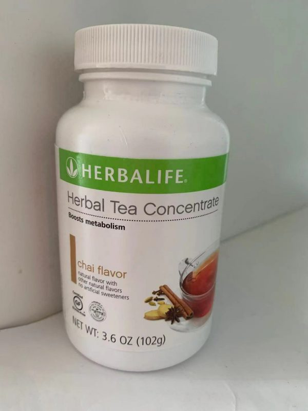 Herbalife Tea Concentrate Chai Flavor -  3.6 Oz new & Sealed
