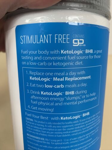 Ketologic Keto BHB Patriot-Pop  8.9 Oz  30 Servings Ketones keto logic Not Xpire 2