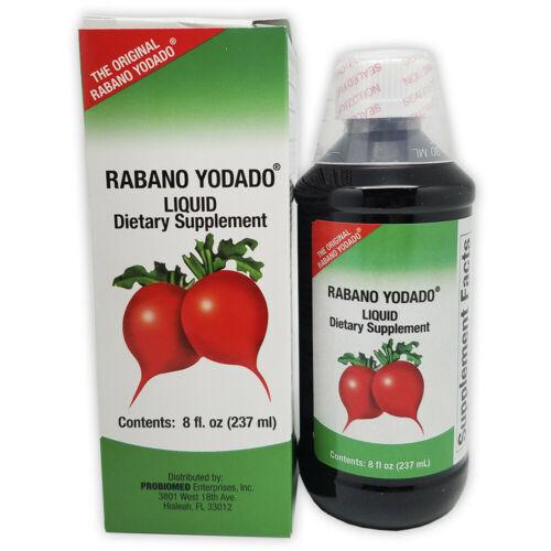Rabano Yodado Liquid Dietary Supplement, Thyroid Treatment, 8 Fl Oz / 237 ml