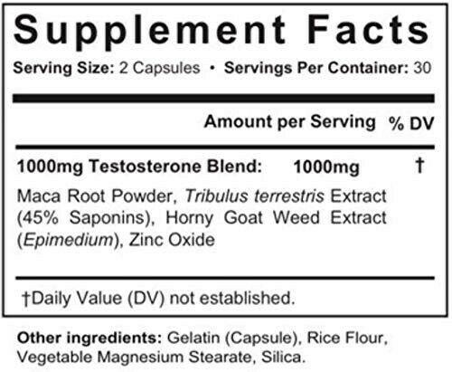 Granite X700 Male Enhancement Stamina Supplement 60 Capsules FREE SHIPPING 1
