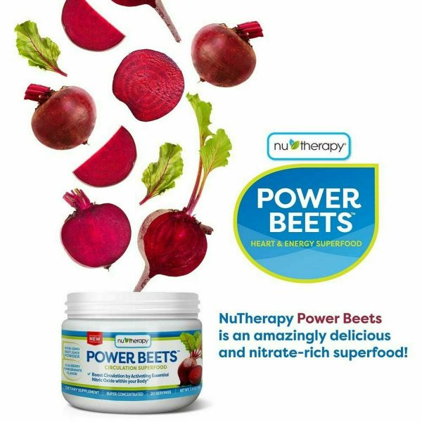 Power Beets Super Concentrated Circulation Superfood Dietary Supplement Non-GMO 2