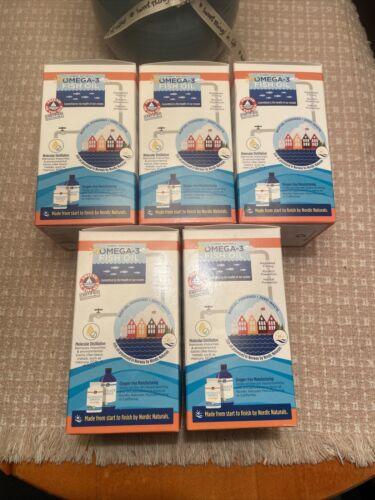 5 BOXS Nordic Naturals Ultimate Omega + CoQ10 soft gel 1280mg w/60 ea EXP 9/2022 3