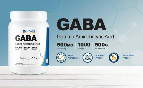 Nutricost GABA Powder 500G - Pure GABA Powder, Non-GMO, Gluten Free 2