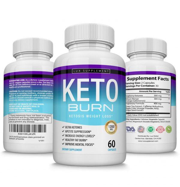 Keto X BURN Diet Pills 1200MG Weight Loss Ketosis Fat Burner Carb Blocker Everyo 2