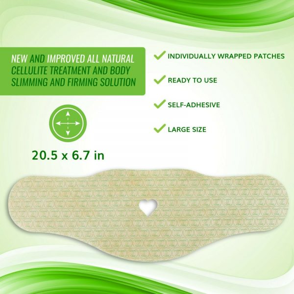 NEW Improved Firming and Shaping Contouring Patch Slimming Body wrap 5 WRAPS 4
