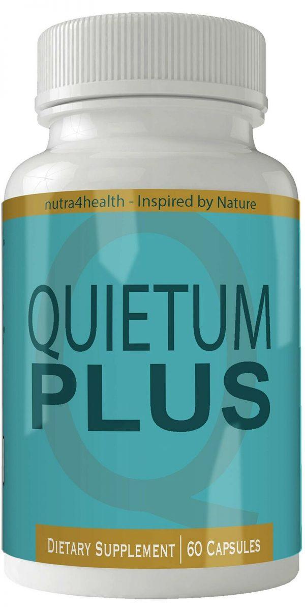 Quietum Plus Complete Tinnitus Relief Supplement, 60 Capsules, Proprietary Bl...
