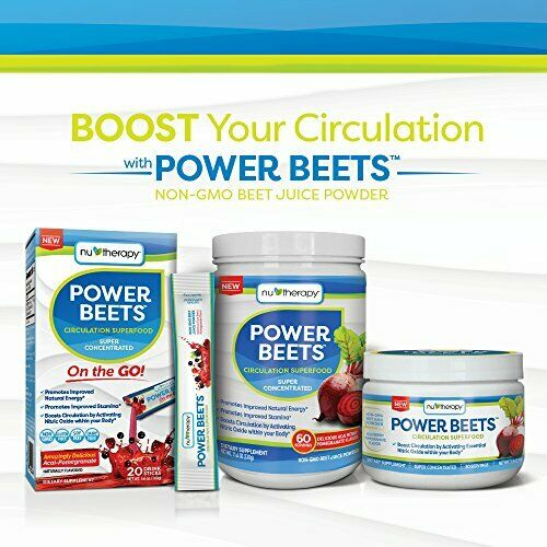 Nu-Therapy Power Beets, Super Concentrated Circulation Superfood, Dietary Sup... 1