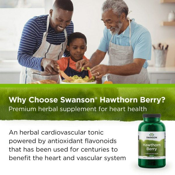 Swanson Hawthorn Berries Supplement | Supports Blood Pressure & Heart Health ... 5