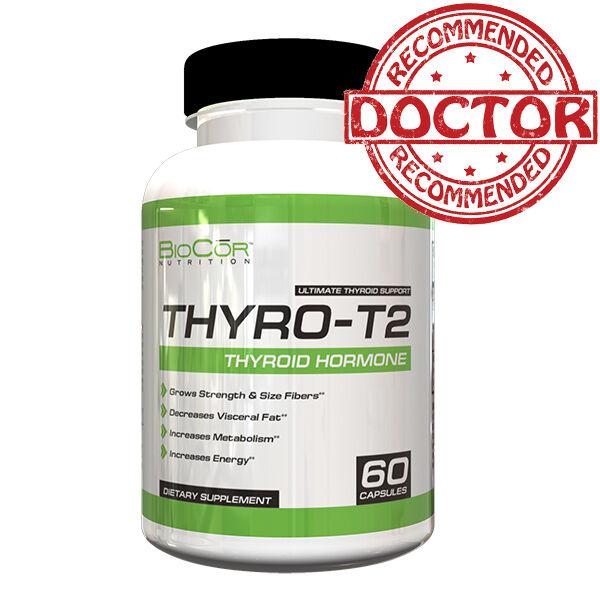 THYRO T2 Thyroid Hormone Fat Burner Supplement - Boost Metabolism & Lose Weight