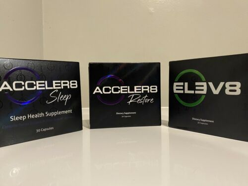 30 Days B Epic ELEV8 + ACCELER8 SLEEP + ACELLER8 RESTORE Weight Loss Bepic Pills