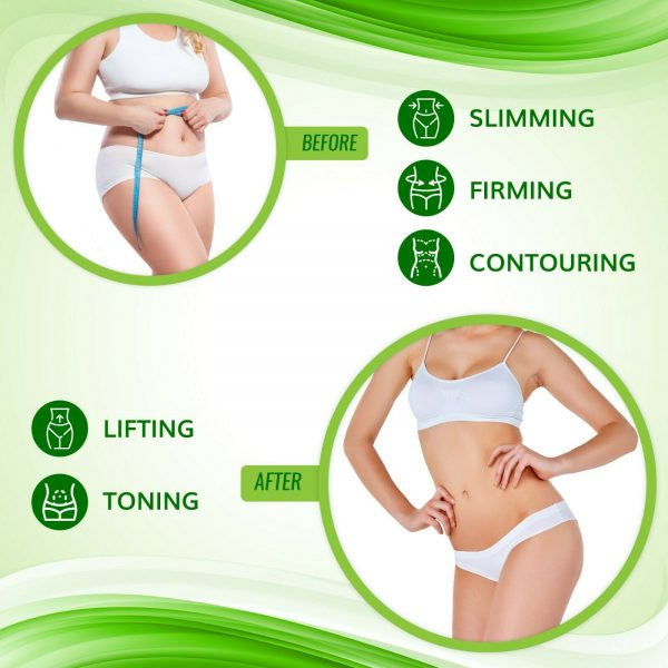 NEW Improved Firming and Shaping Contouring Patch Slimming Body wrap 5 WRAPS 6