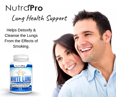 White Lung - Lung Cleanse & Detox.Support Clear Lungs a Healthy Lungs Supplement 2