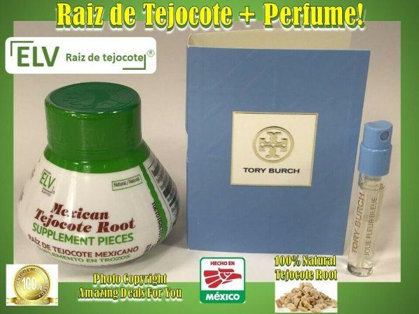 Green ELV Raiz de Tejocote 100% Natural Weight Loss 3 months supply + PERFUME