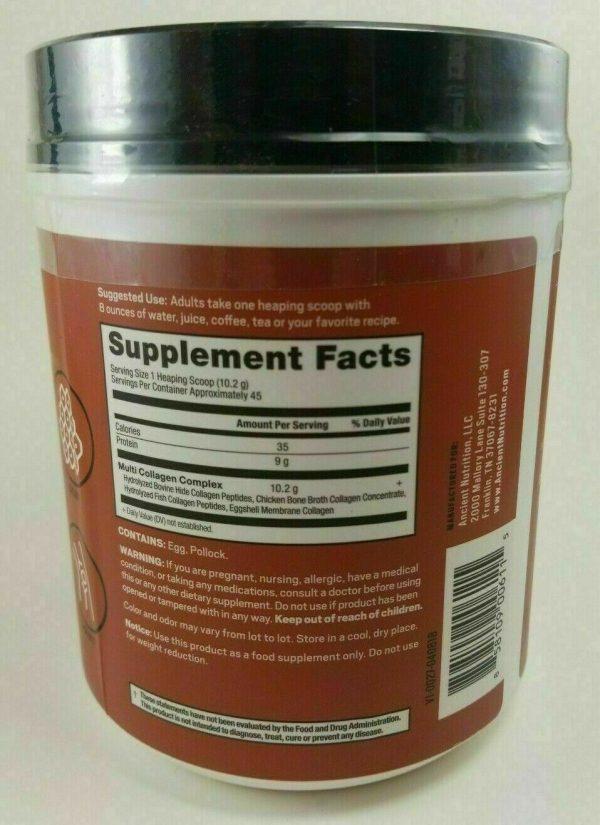 Ancient Nutrition Multi Collagen Protein Powder - 16.2oz 02/2021 1