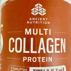 ANCIENT NUTRITION MULTI COLLAGEN PROTEIN  expiration date 06/2021 1.01LBS-N2