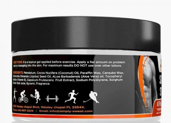 Simply Sweat Original 6.5oz Workout Enhancer Gel by HPP same as Sweet Sweat 2